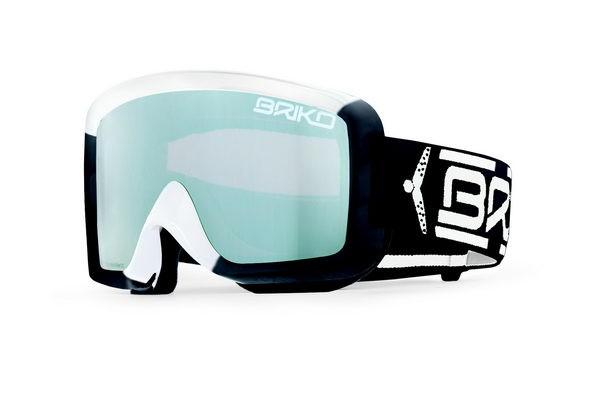 Briko smučarska očala Super Race - črna/bela