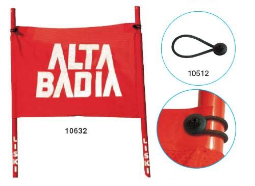Liski zastavice za VSL, na zanko - WC (75×50cm)