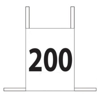 Enostavne štartne številke, 0-100