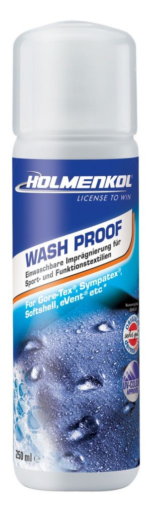 Pralna impregnacija za oblačila - Holmenkol Wash Proof, 250ml