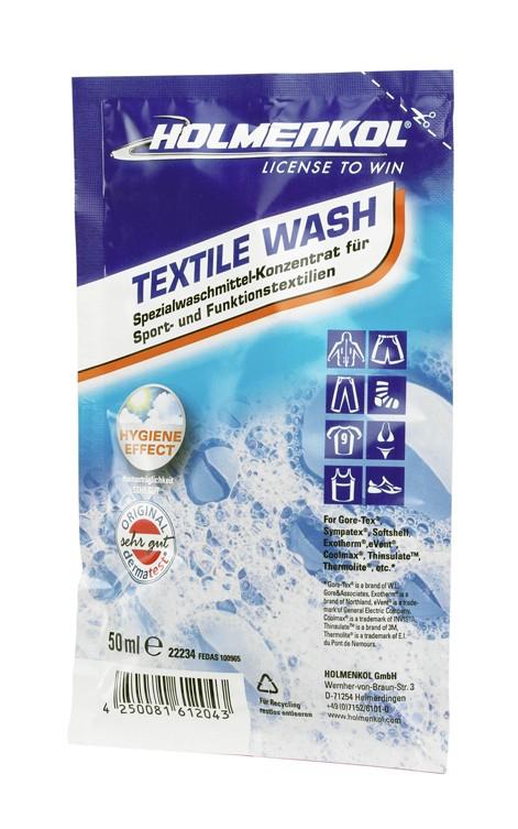 Detergent za funkcijska oblačila Holmenkol Textile Wash, 50ml