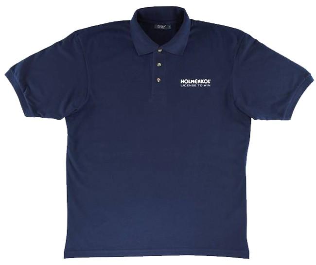 Holmenkol moška kratka polo majica - aquatic