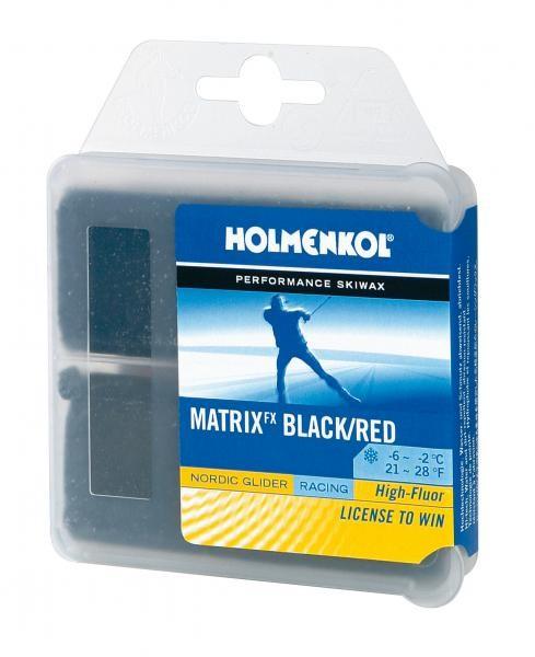 Holmenkol Matrix fx črni/rdeči