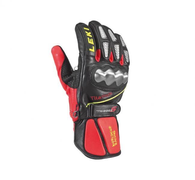 Leki smučarske rokavice WC Racing - TITANIUM - črne (št.6.5)