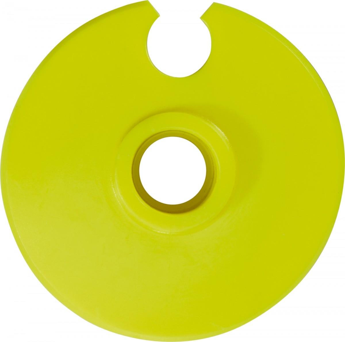 Leki Krogec (krpljica) za SL palice (62mm) - rumena