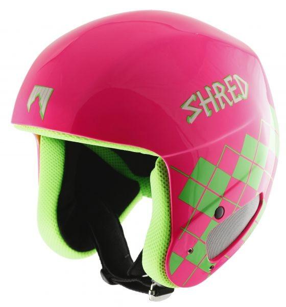 Smučarska Čelada SHRED - Brain Bucket - pink