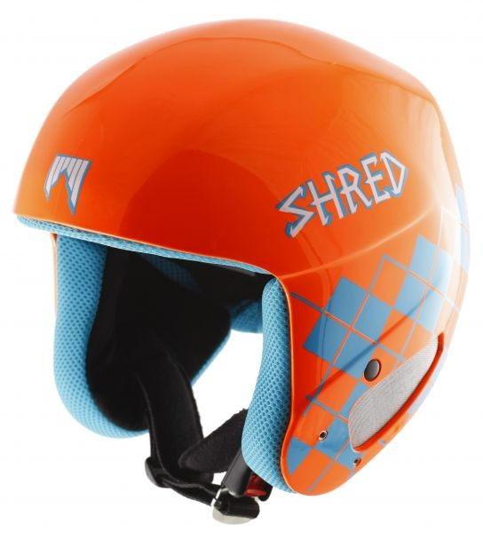 Smučarska čelada SHRED Mega Brain Bucket - Orange
