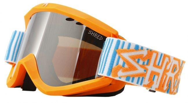 Smučarska očala Shred Soaza: Boba Code - oranžna