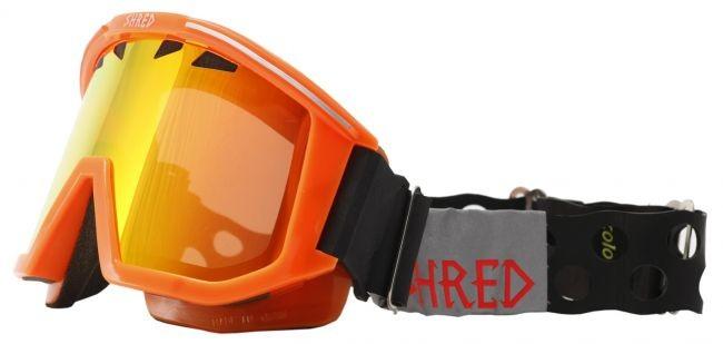 Shred smučarska očala OMNIBOT ECO - oranžna
