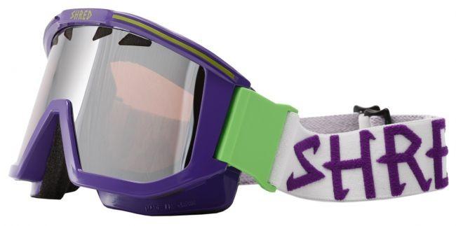 Shred smučarska očala OMNIBOT - vijolična/zelena