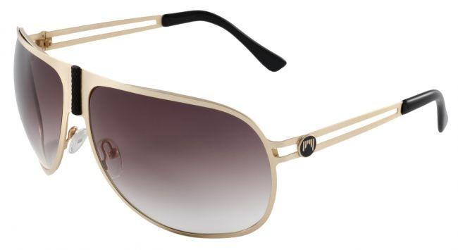 Sončna očala Shred - SOAZA - zlata/črna