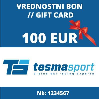 Vrednostni bon za 100 Eur