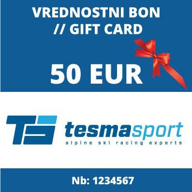 Vrednostni bon za 50 Eur