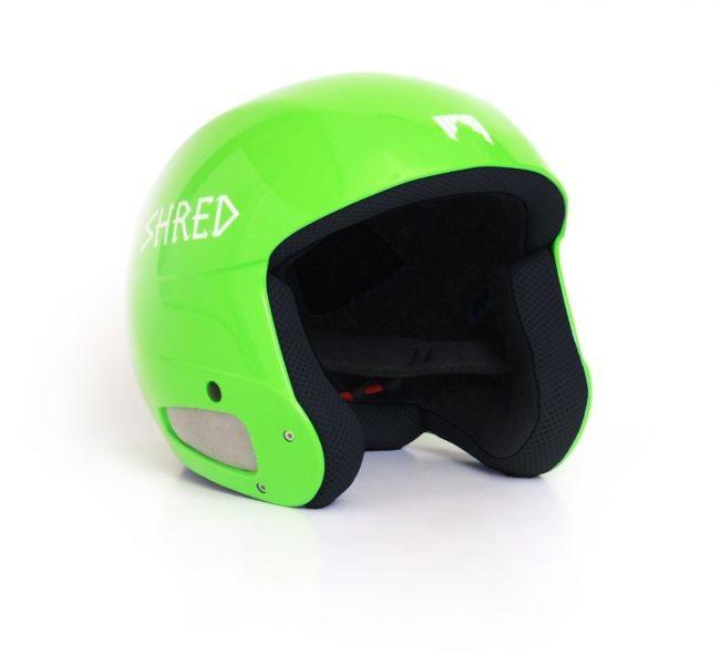 Smučarska čelada SHRED - brain bucket - Zelena (60)