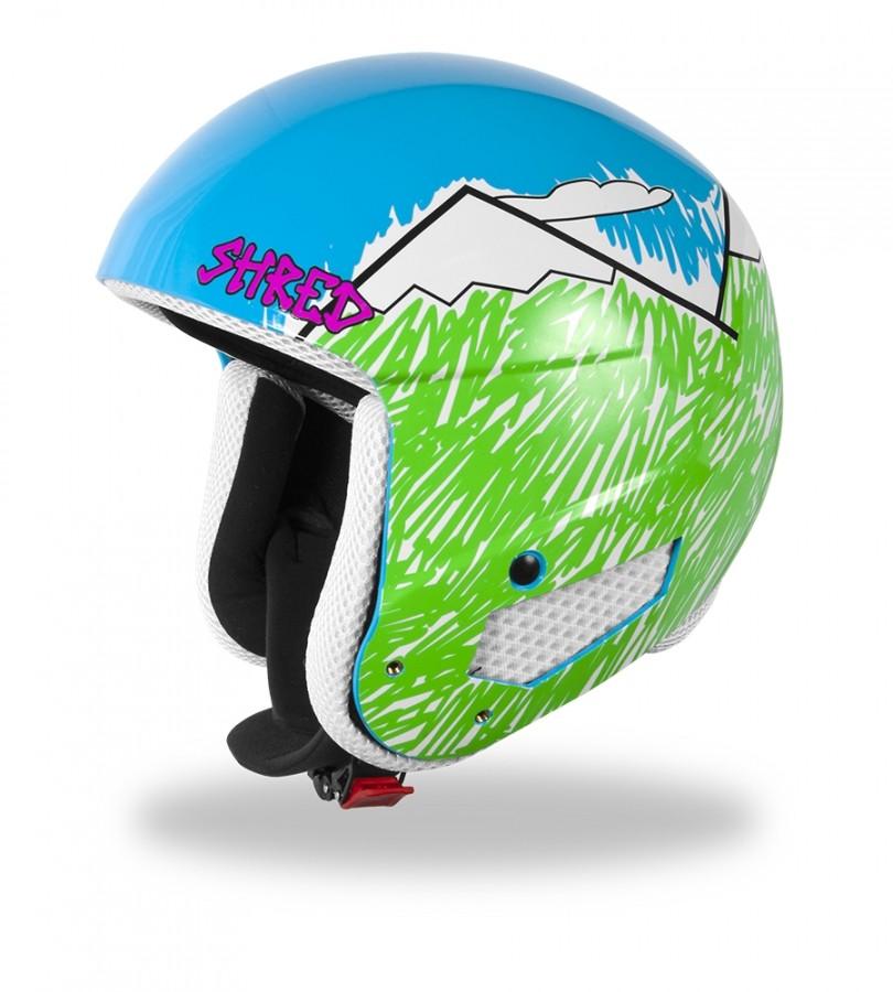 Smučarska čelada Shred Mega Brain Bucket RH - NEEDMORESNOW