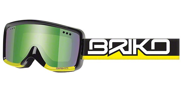 Briko super race shiny black yellow