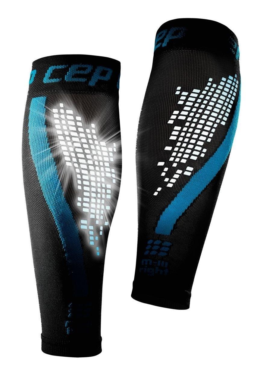 cep nighttech calf sleeves blue