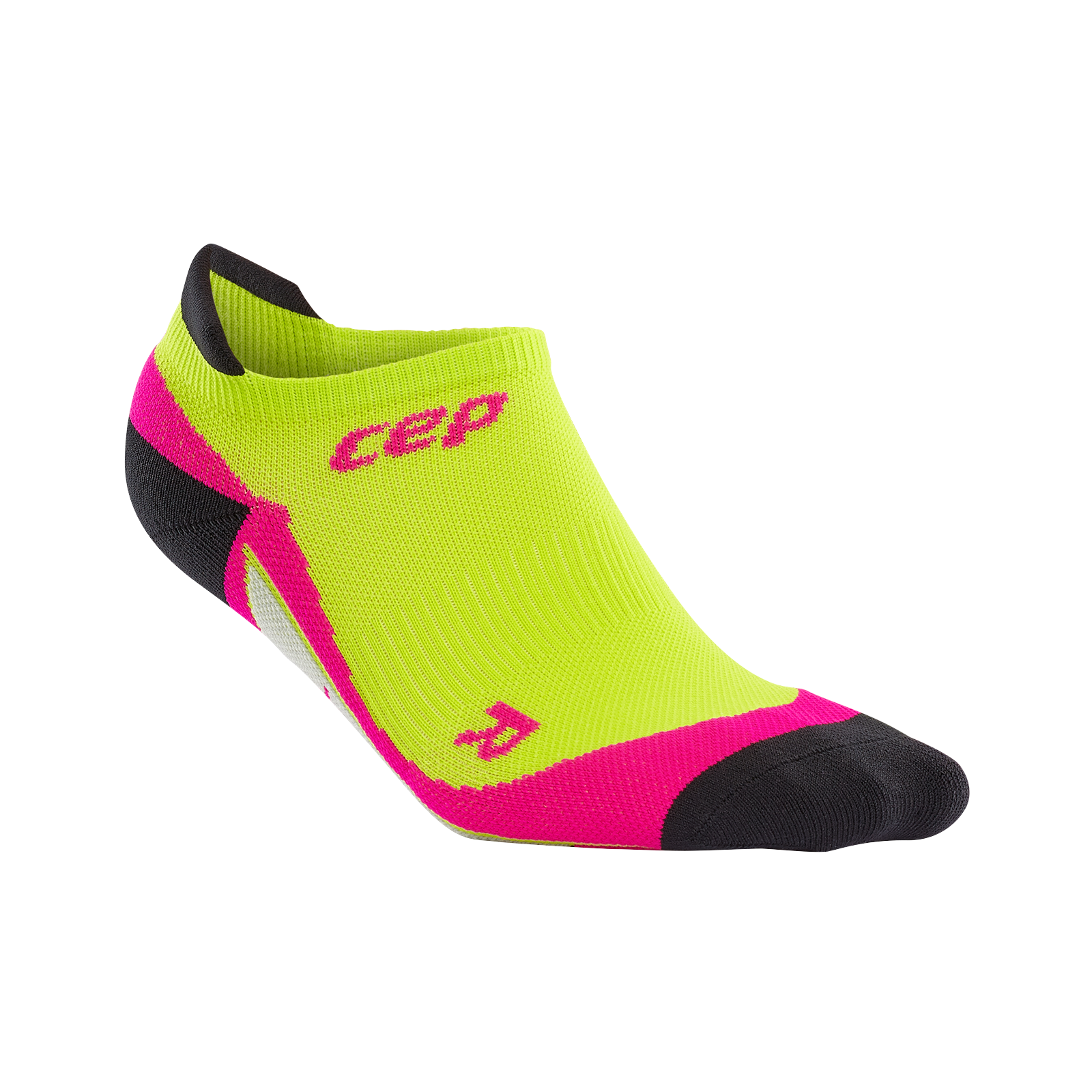 Lime green/pink