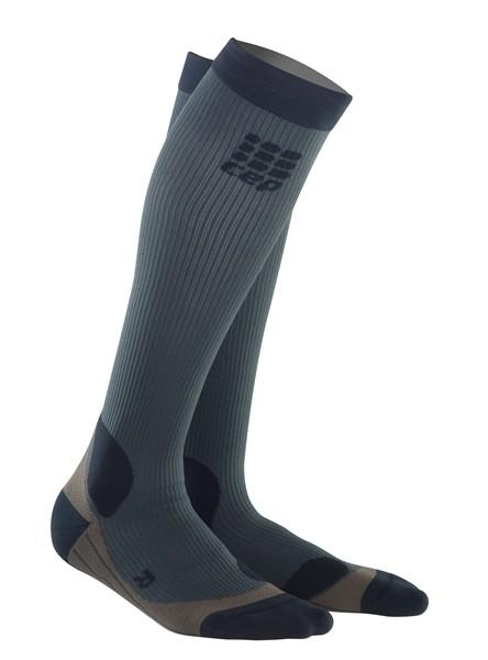 cep nogavice za treking sive