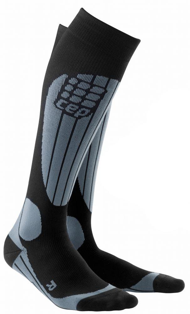 cep skiing socks comfort gray