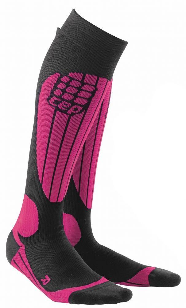 cep skiing socks comfort pink