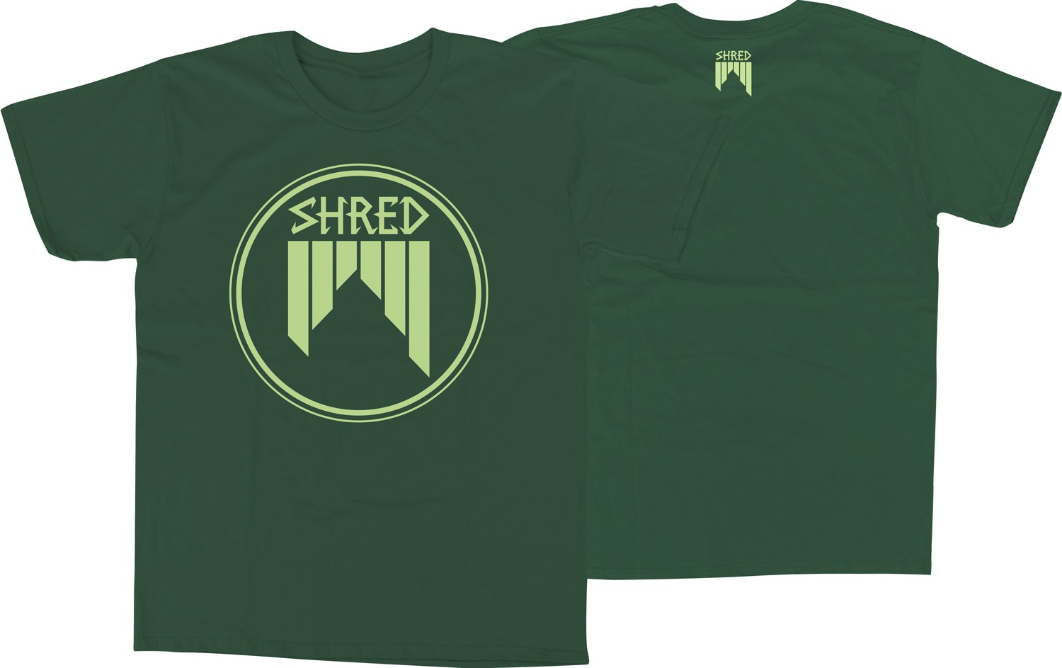 Shred CONCENTRIC t shirt