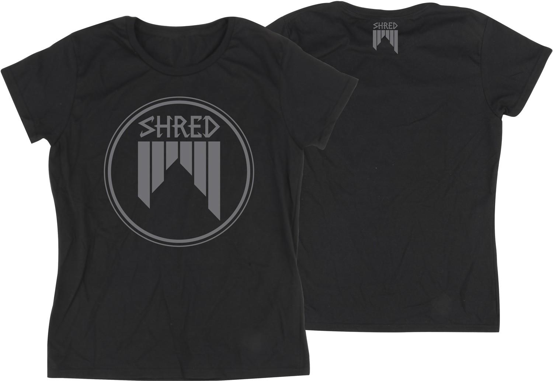 Shred ženska bombažna kratka majica CONCENTRIC