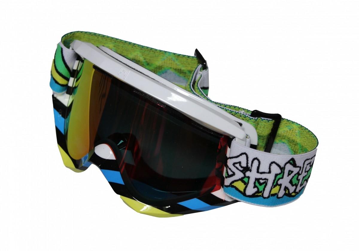 Polarizirana Smučarska očala Shred Soaza D-LUX - LINES