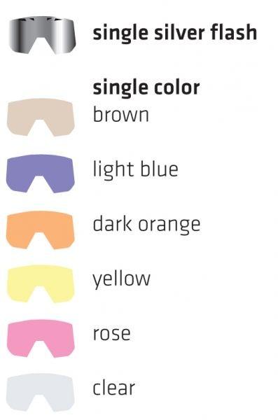 Enojna rezervna stekla za Shred Omnibot očala