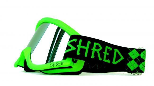 Smučarska očala SHRED - zelena