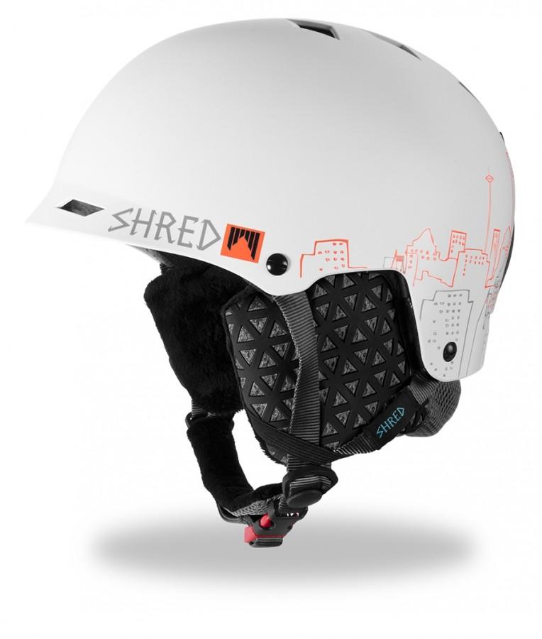 Smučarska čelada Shred HALF BRAIN DLUX - CityScape