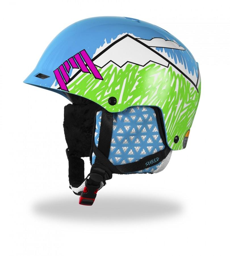 Smučarska čelada Shred HALF BRAIN DLUX - NeedMoreSnow