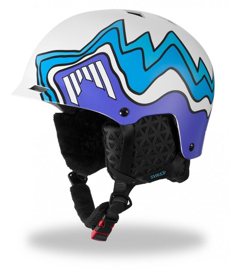 Smučarska čelada Shred HALF BRAIN DLUX - S Duper