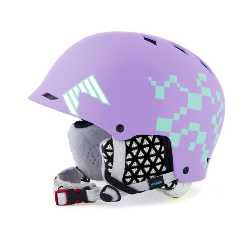 half brain dlux sq air lilac
