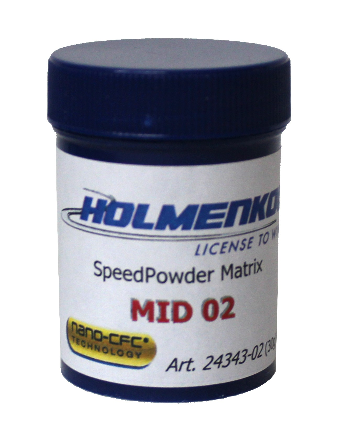Holmenkol CFC prašek Speed Powder Matrix MID 02