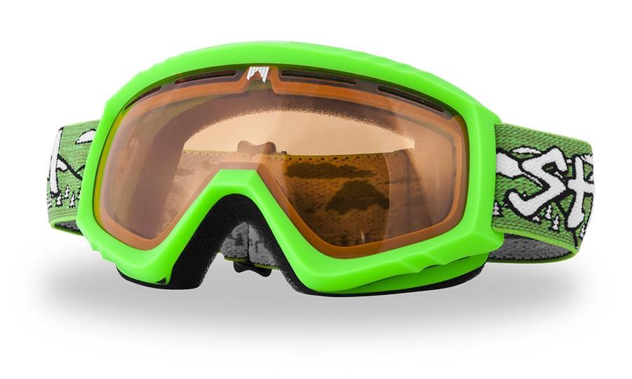 Otroška smučarska očala Shred HOYDEN WhyWeShred - zelena