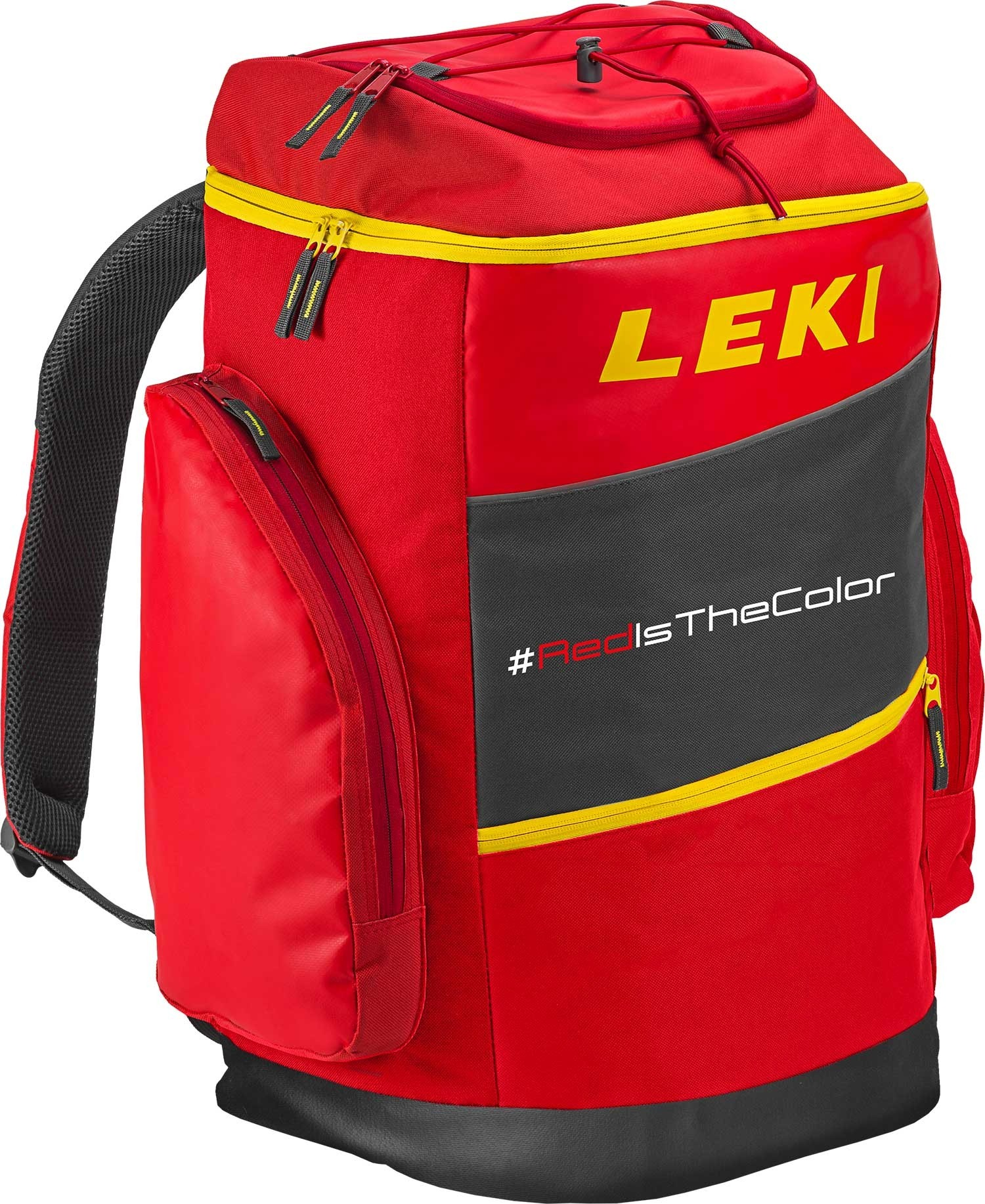 Leki race boot bag red is the colour