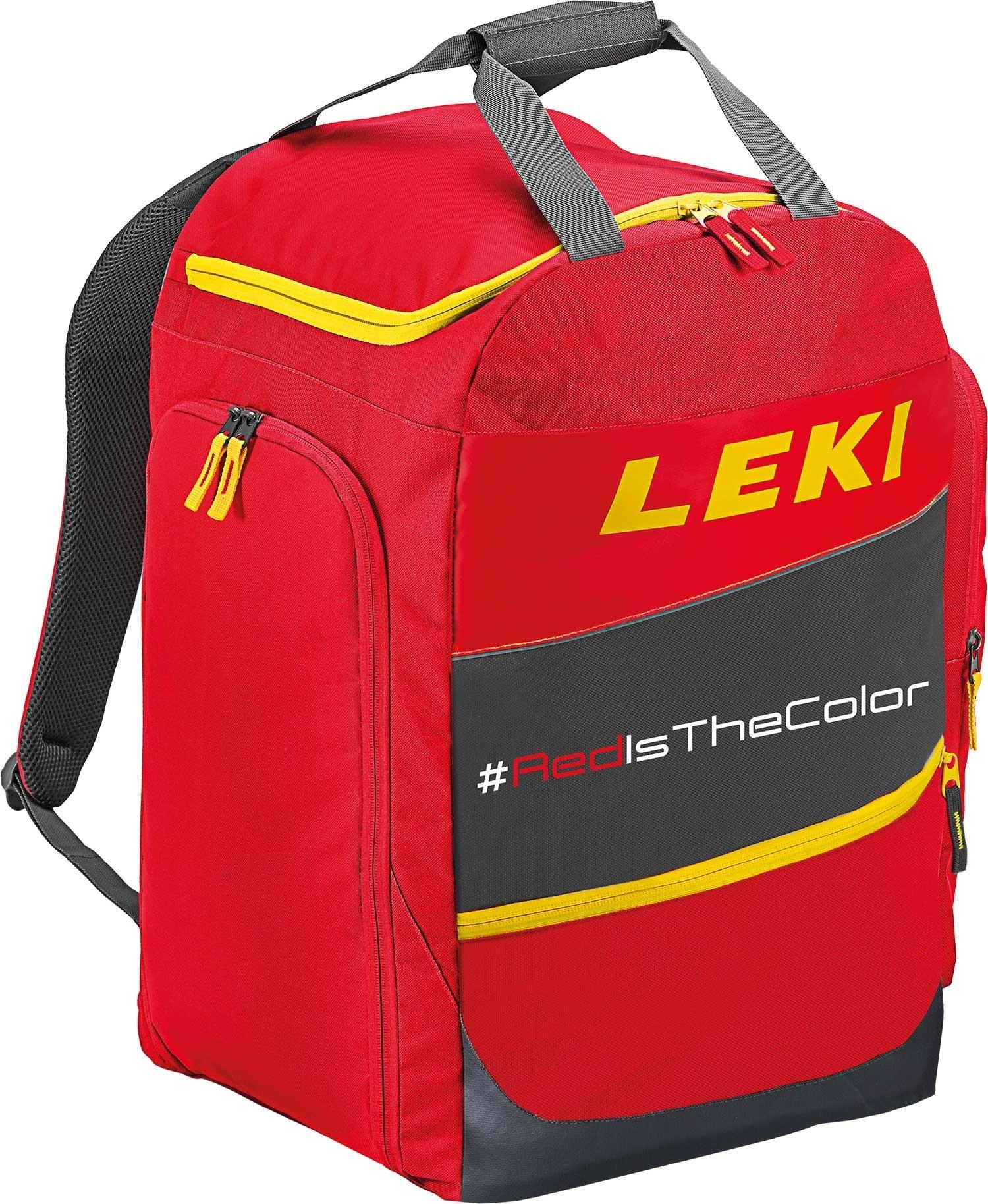 Leki bootbag red is the colour