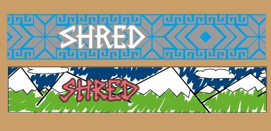 Ted Ligety Shred rezervna trakova za smučarska očala
