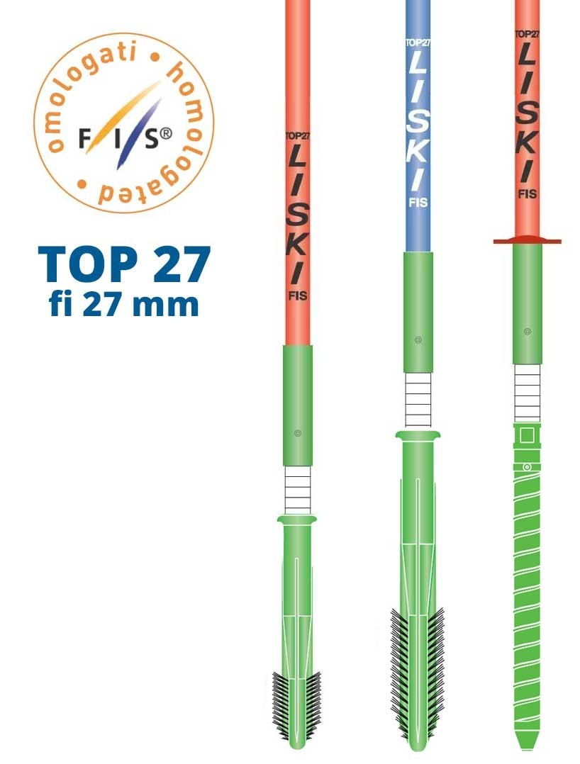 liski flex poles top 27