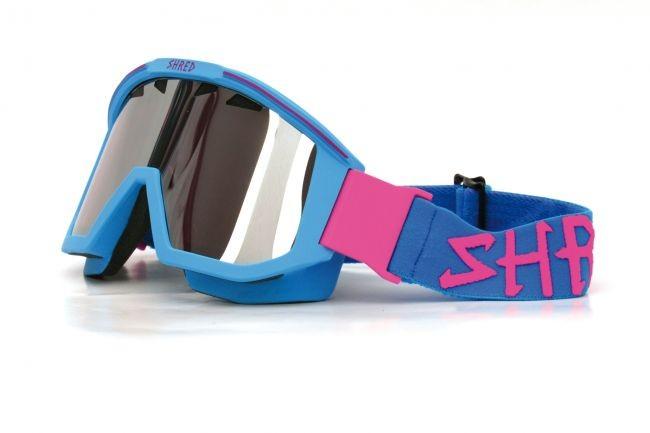 Shred smučarska očala OMNIBOT - modra/roza