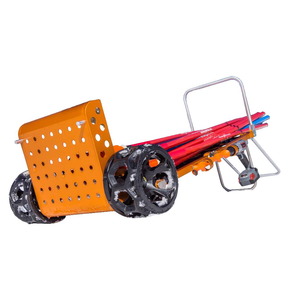 OrangeFox transportni voziček za količke in opremo