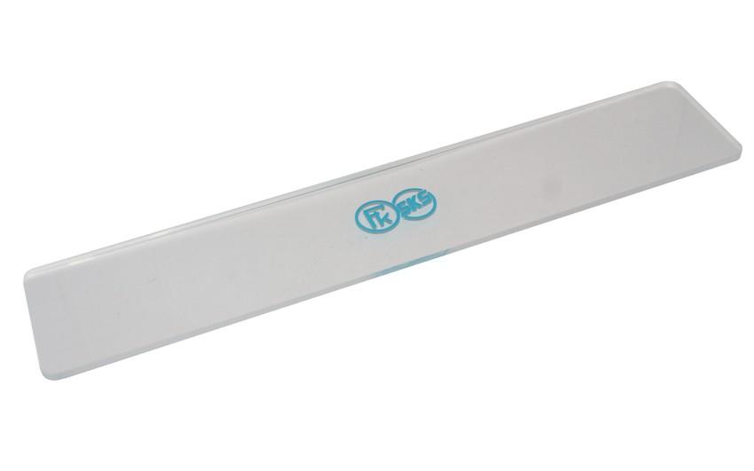 Kunzmann (SKS) plexi strgalo za snowboard, 320 x 70 x 5 mm