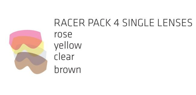 Racer pack SOAZA JUNIOR - 4 stekla