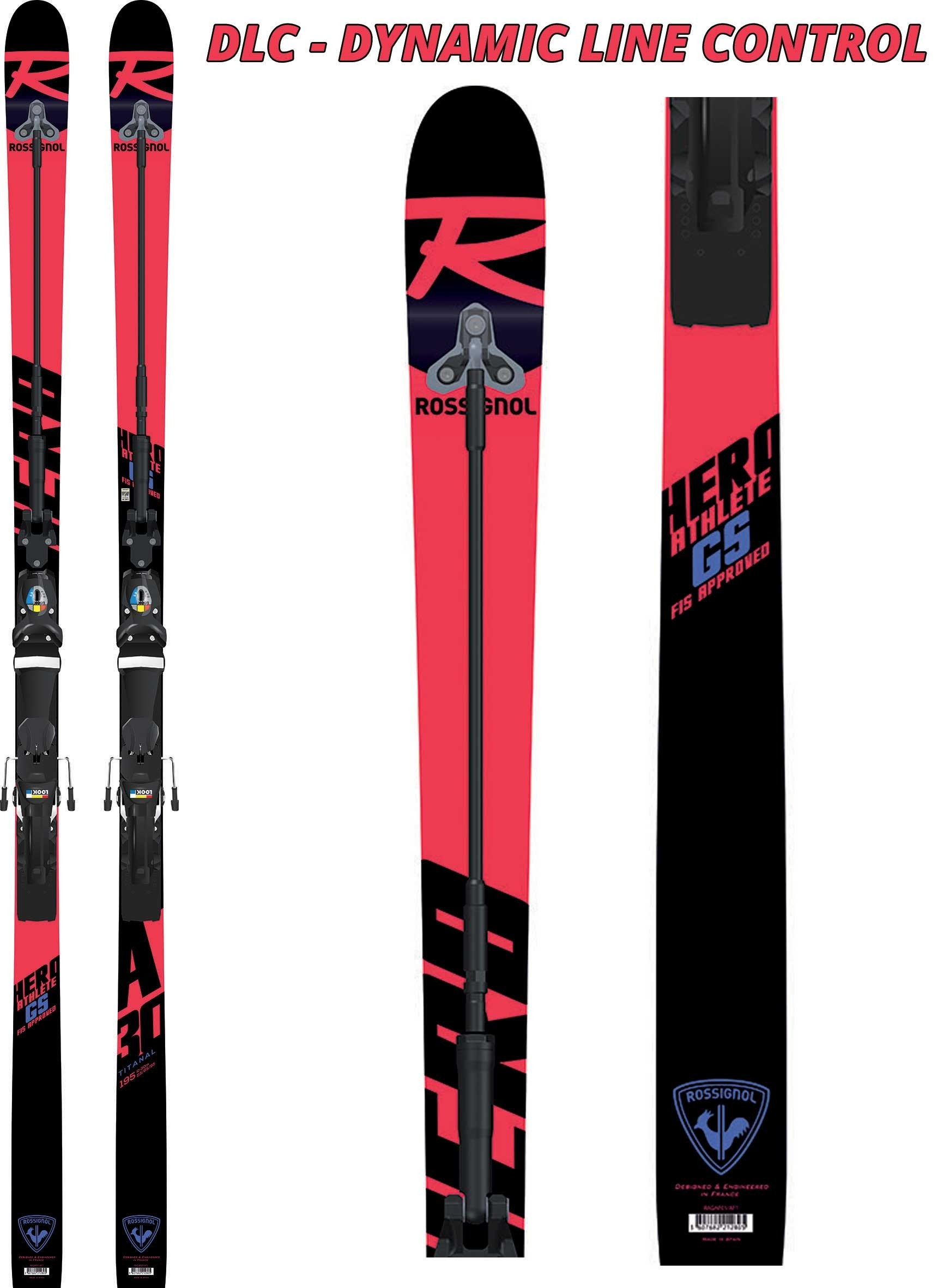 Rossignol Hero Athlete FIS DLC GS