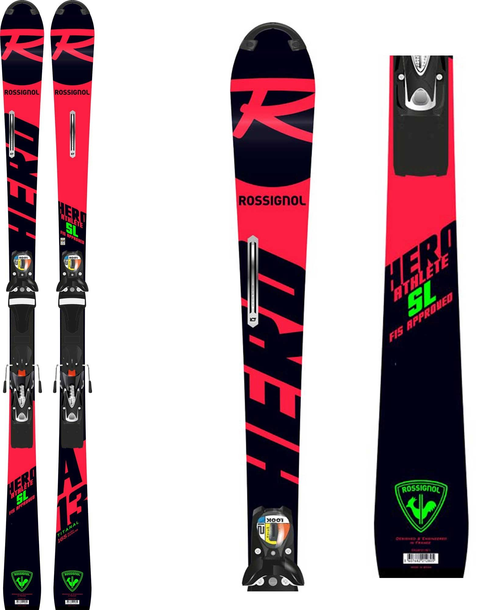 Rossignol hero athlete fis sl r22 165