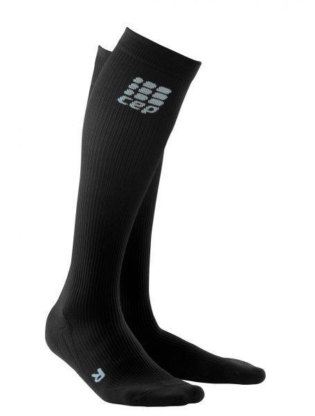 Kompresijske tekaške nogavice CEP - črne
