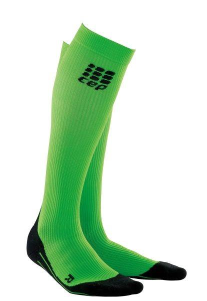 Kompresijske tekaške nogavice CEP 2.0 - zelene