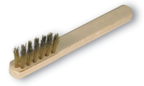 Krtača za čiščenje pil - Holmenkol