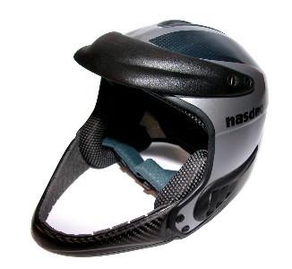 Nasdaq smučarska čelada za slalom - karbon, L